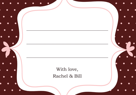 How Word Wedding Response Cards Ehow Pic #19