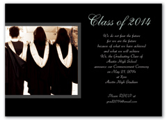 Personalize With Photo Graduation Announcement Sample